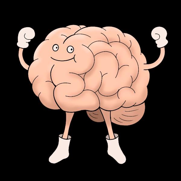 脳|フリーのイラスト素材「もってけ画廊」