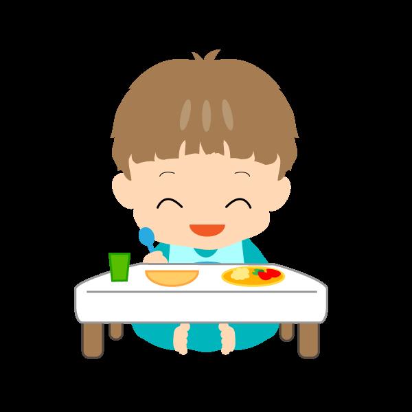 赤ちゃん 男の子 離乳食