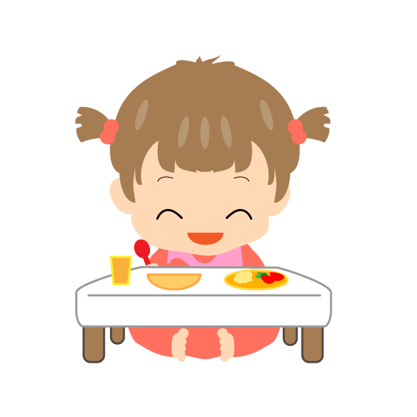 赤ちゃん 女の子 離乳食
