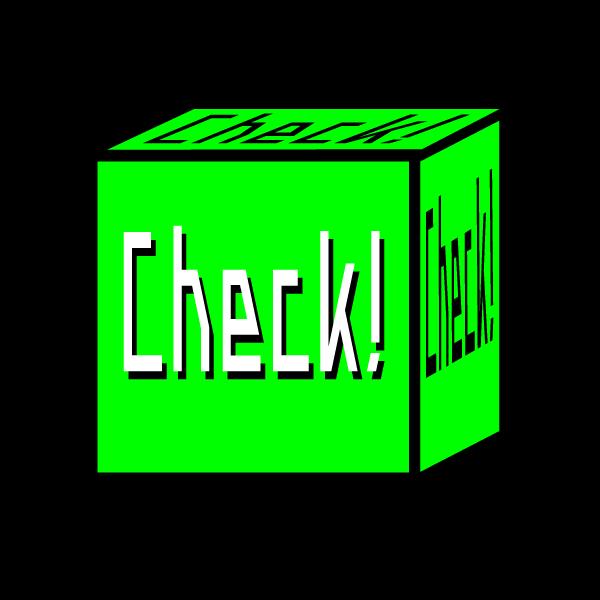 チェックボックス グリーン