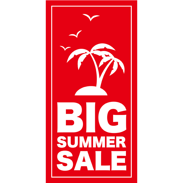 BIG SUMMER SALE 縦