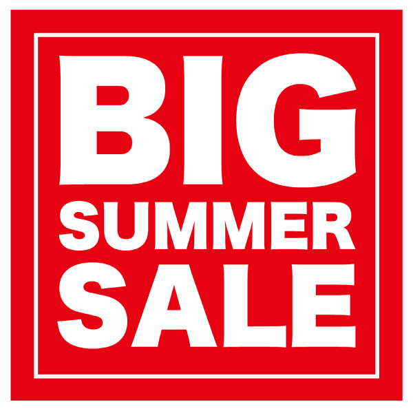 BIG SUMMER SALE 正方形