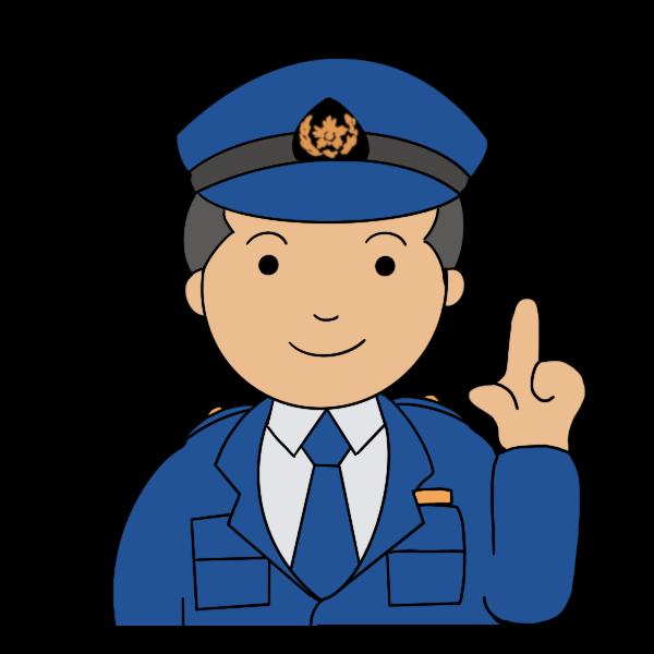 警察官 男