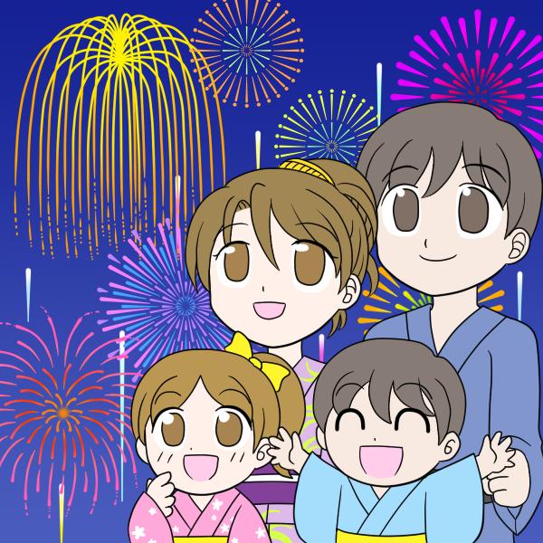 花火大会・ファミリー