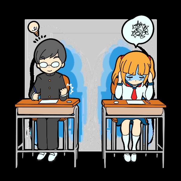 テスト中の手ごたえ有り無し