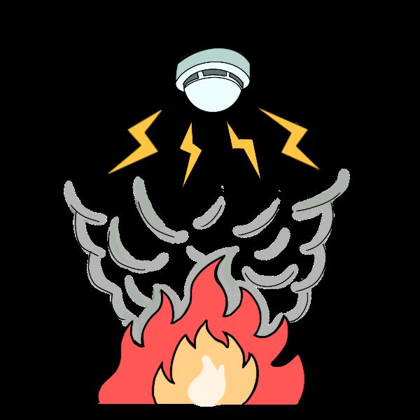 火災報知器作動
