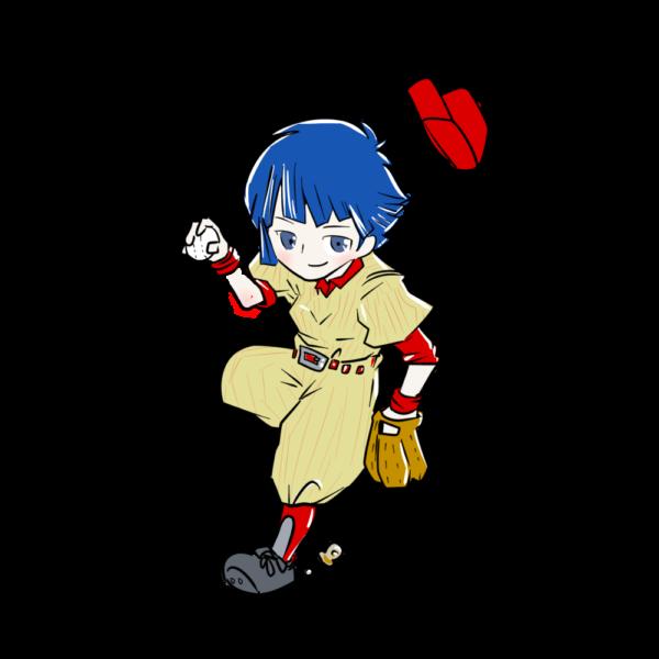 女の子野球選手2