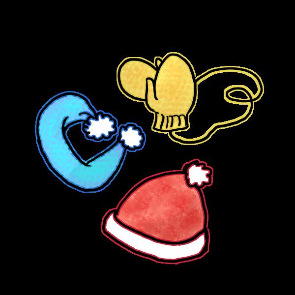 手袋マフラー帽子