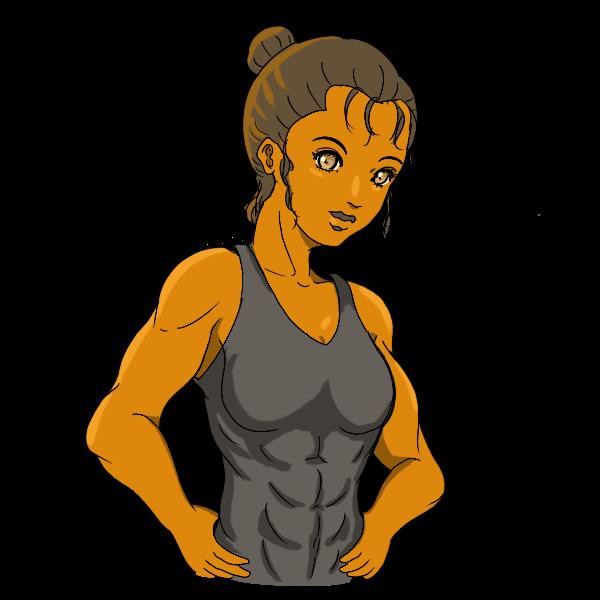 筋トレ美女3