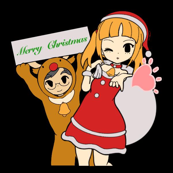 クリスマスコスプレ