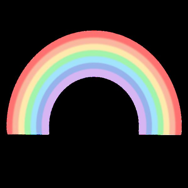 虹(背景なし)