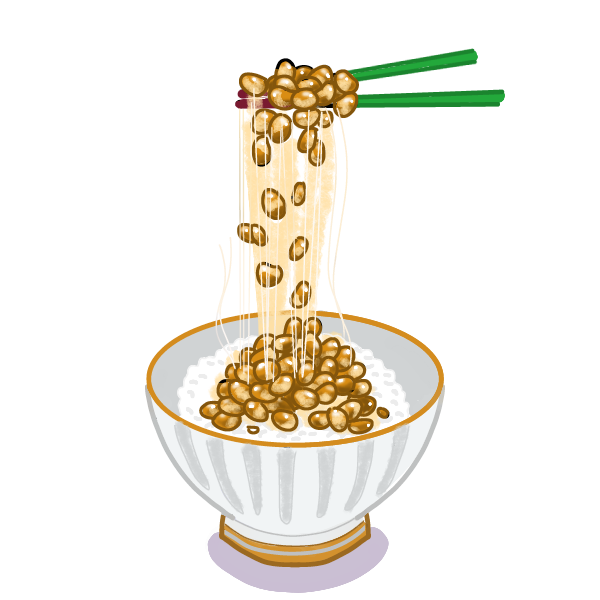 納豆ご飯①