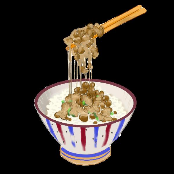 納豆ご飯②